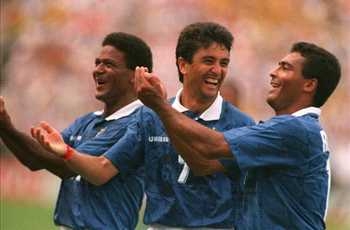 Bebeto celebration