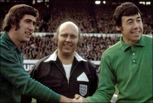 Peter Bonetti and Gordon Banks