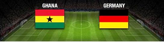 Ghana goes up against Germany