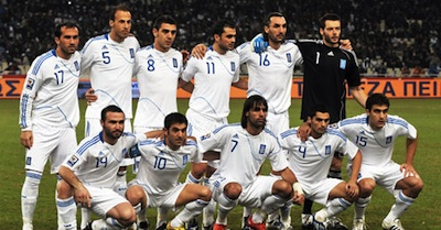 Greek Squad for the 2010 FIFA World Cup