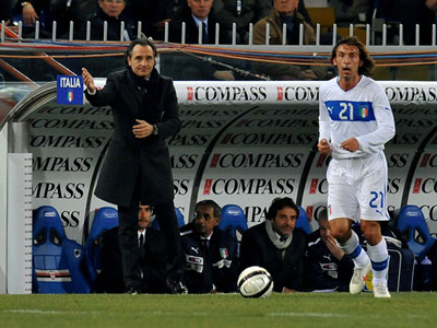 Prandelli and Pirlo