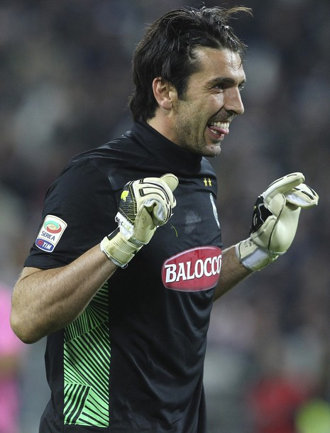 Buffon excited