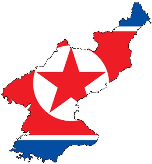North Korea flag DPRK