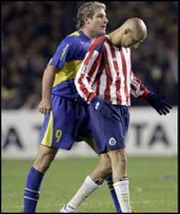 Bofo and Palermo 2005 Chivas Boca