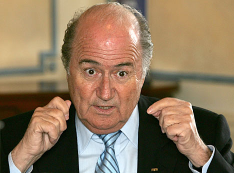 Blatter sure has some explanations to make