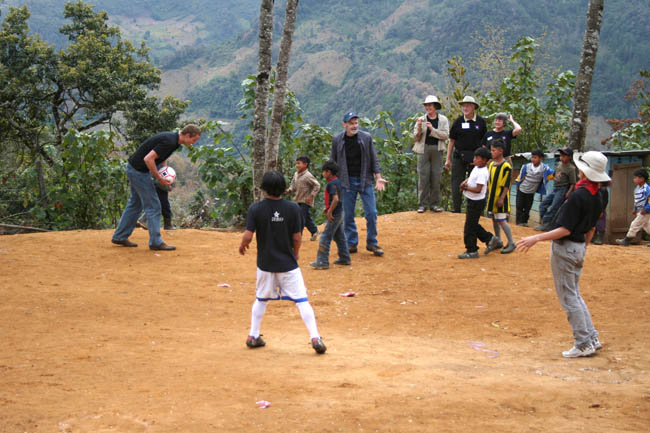 Guatemalan national team trains with help from Canadians