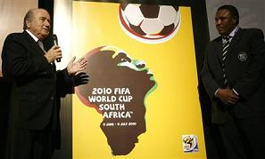 FIFA unveil World Cup 2010 poster