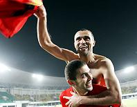 Tunisia after Angola game