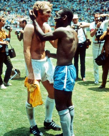 pele and bobby moore